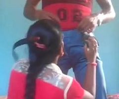 indian young couple sucking licking cum drinking hot fuck sex bit