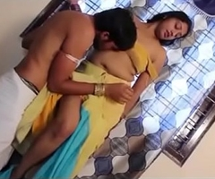Indian Bhabhi First Time fucking in his collaborate assembly room