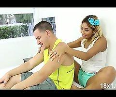 XXX Step-Sister Seduces Her Bodyguard Brother