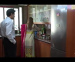 Lonely beautiful wife falls prey to husband's pervy boss Niks Indian