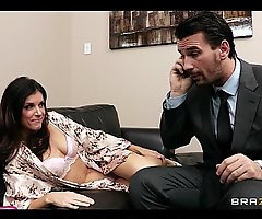 Lonley dark brown slutty wife entreats her hubby to assist her purl