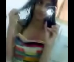 Delhi College Girl Selfie Pellicle