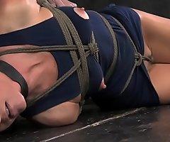Overarm tied soul bondage India Summer